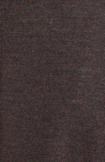 Alternate Image 3  - Eileen Fisher Leather Trim Merino Blend Jacket