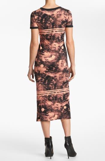 Alternate Image 2  - Viva Vena! Print Tee Maxi Dress