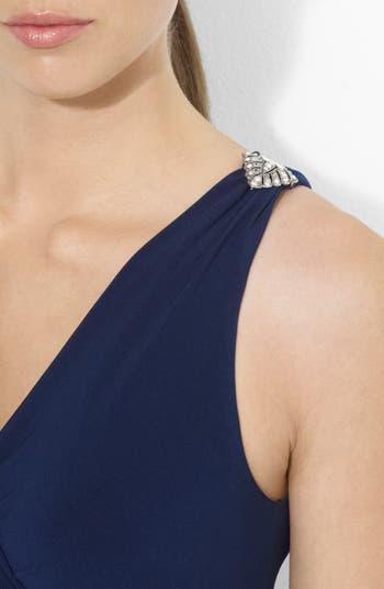 Alternate Image 3  - Lauren Ralph Lauren Empire Matte Jersey Dress