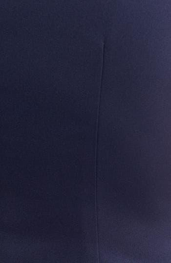 Alternate Image 3  - Eliza J Side Pleat Sheath Dress (Petite)