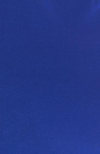 Alternate Image 3  - Alex Evenings Embellished Side Draped Jersey Dress (Plus Size)