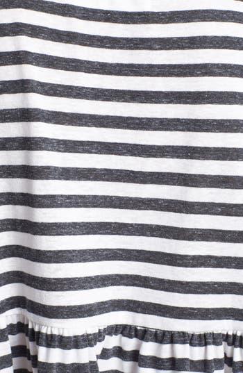 Alternate Image 3  - Project Social T Stripe Peplum Tee (Juniors)