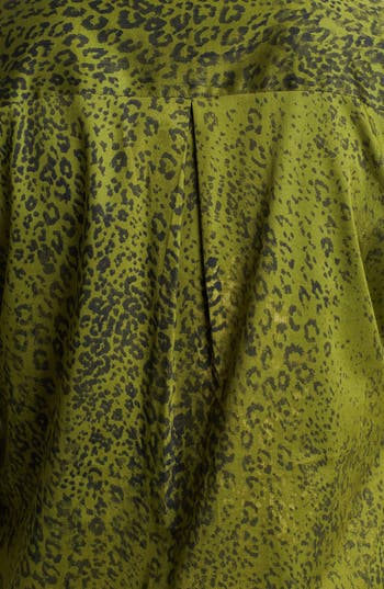 Alternate Image 3  - Foxcroft 'Safari Leopard' Shaped Shirt (Plus Size)