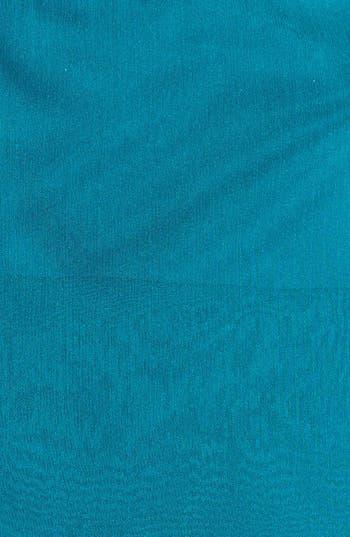 Alternate Image 3  - Adrianna Papell Embellished Yoke Ruffled Charmeuse Gown (Plus Size)