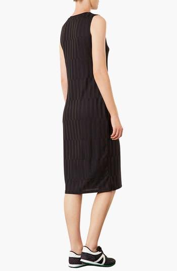 Alternate Image 2  - Topshop Textured Midi Dress