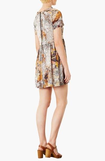 Alternate Image 2  - Topshop Map Print Tunic Dress