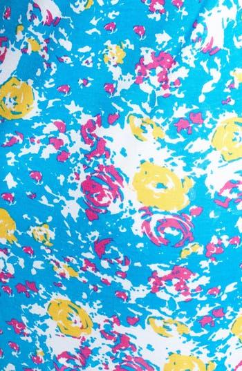 Alternate Image 3  - Minty Print Body-Con Dress (Juniors)