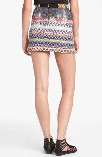 Alternate Image 2  - Topshop Ikat Pattern Skirt