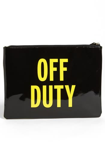 Alternate Image 4  - kate spade new york 'far from the tree - gia' pouch
