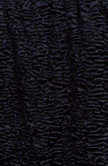 Alternate Image 3  - Gallery Notch Collar Faux Persian Lamb Fur Coat (Regular & Petite)