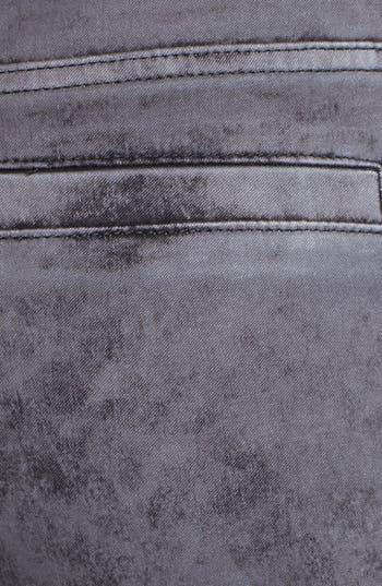 Alternate Image 3  - Articles of Society 'Mya' Acid Washed Cargo Skinny Jeans (Stone) (Juniors)