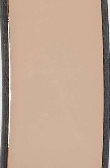 Alternate Image 3  - Amici Accessories Metal Plate Stretch Belt (Juniors)