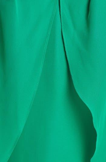 Alternate Image 3  - Hailey Logan Jeweled V-Neck Dress (Juniors) (Online Only)