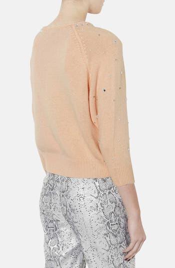 Alternate Image 2  - Topshop Embellished Sweater