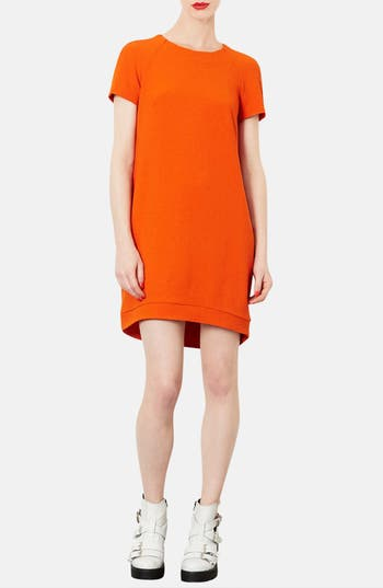 Alternate Image 4  - Topshop Crepe Shift Dress