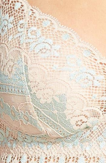 Alternate Image 3  - Hanky Panky 'Antoinette' Cross Dye Lace Bralette