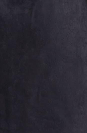 Alternate Image 3  - Jessica Simpson Laser Cut Faux Suede Shift Dress (Online Only)