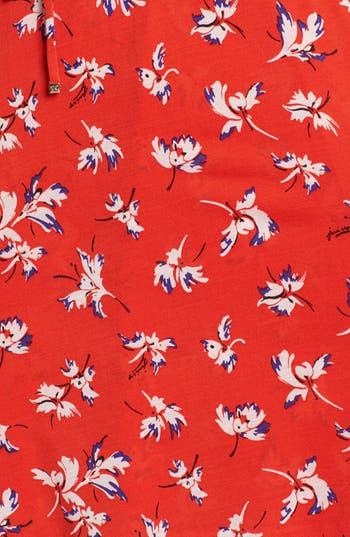 Alternate Image 3  - Juicy Couture 'Feather Iris' Silk Wrap Dress