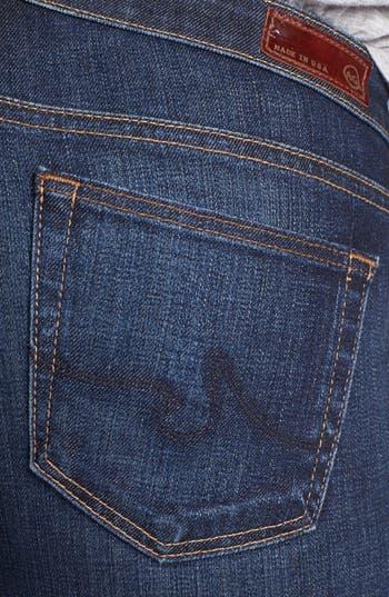 Alternate Image 3  - AG 'Olivia' Skinny Bootcut Jeans (Crest Blue)