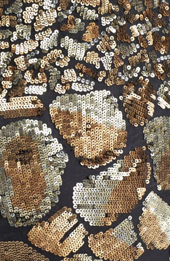 Alternate Image 3  - Tracy Reese Cheetah Detail Sequin Dress