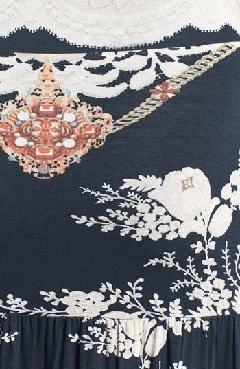 Alternate Image 3  - Sky Print Embellished Maxi Dress