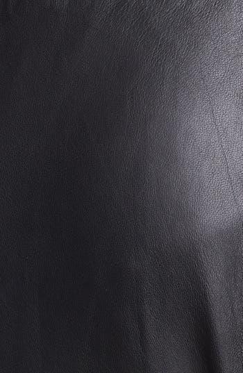 Alternate Image 3  - Rachel Zoe 'Venice' Lambskin Leather Miniskirt
