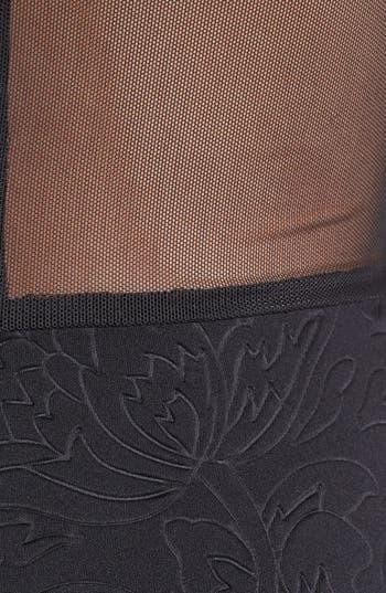 Alternate Image 3  - Lush Mesh Back Skater Dress (Juniors)