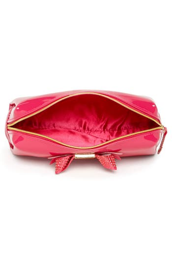 Alternate Image 4  - Ted Baker London 'Metallic Bow - Large' Cosmetics Case