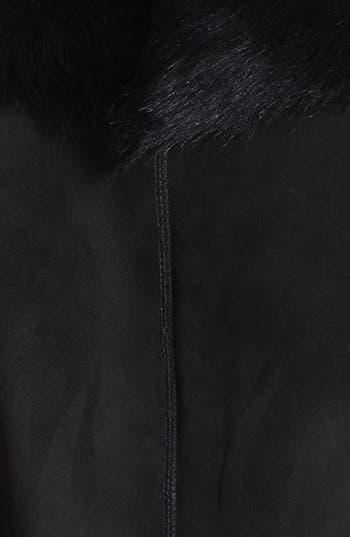 Alternate Image 3  - HiSO 'Zelda' Notch Collar Genuine Toscana Shearling Coat