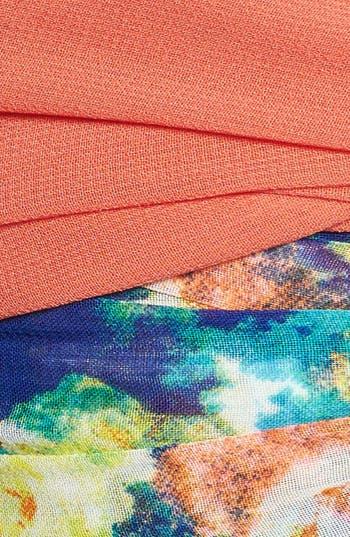 Alternate Image 2  - Cara Floral Print Head Wrap