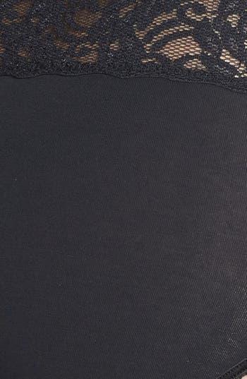 Alternate Image 3  - Wacoal 'Cotton Suede' Lace Trim Hipster Briefs