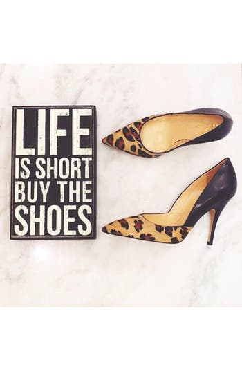 Alternate Image 3  - Primitives by Kathy 'Life Is Short: Buy the Shoes' Box Sign