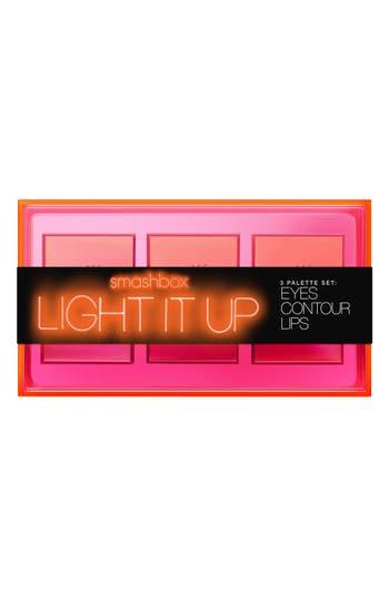 Alternate Image 4  - Smashbox Light It Up Mini Eye, Lip & Contour Palette Trio (Limited Edition) ($90 Value)