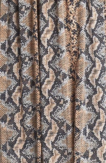 Alternate Image 3  - Tracy Reese Python Print Jersey Maxi Dress