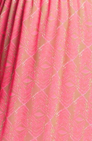 Alternate Image 3  - dee elle Open Back Print Maxi Dress (Juniors)