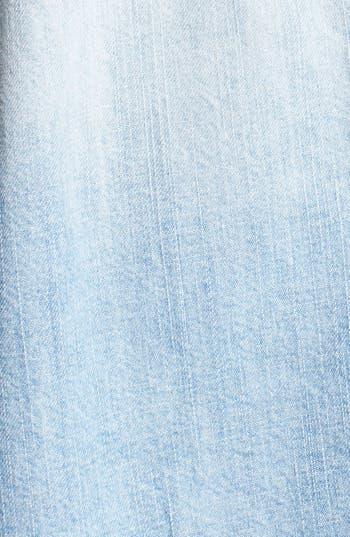 Alternate Image 3  - Rubbish® Short Sleeve Denim Shirt (Juniors)