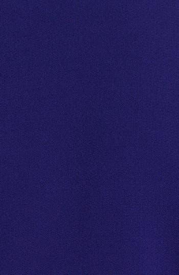 Alternate Image 3  - Eliza J Faux Leather Trim Shift Dress (Plus Size)