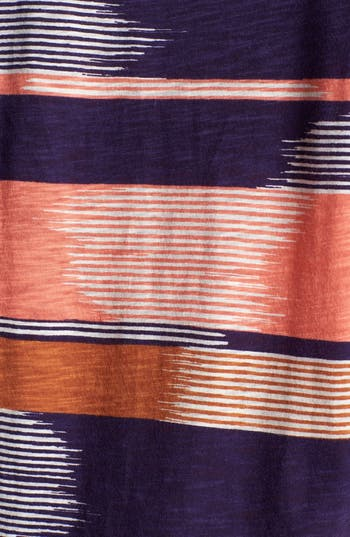 Alternate Image 3  - Lucky Brand 'Alina' Stripe Tee (Plus)