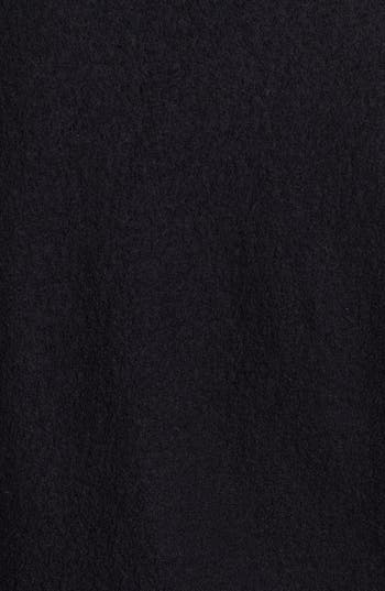 Alternate Image 4  - Eileen Fisher Leather Trim Boiled Wool Jacket