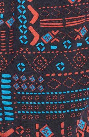 Alternate Image 3  - Dolce Vita Print Tiered Silk Dress