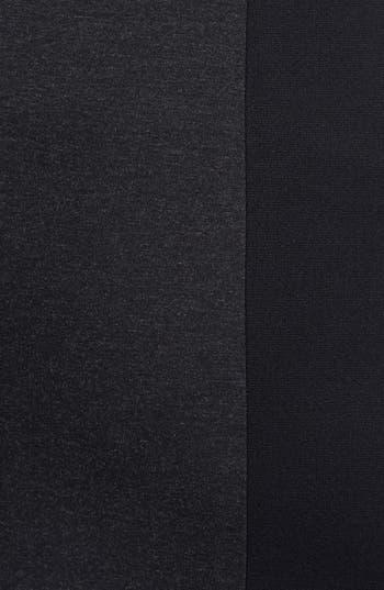 Alternate Image 3  - Sejour Colorblock Ponte Knit Pencil Skirt (Plus Size)