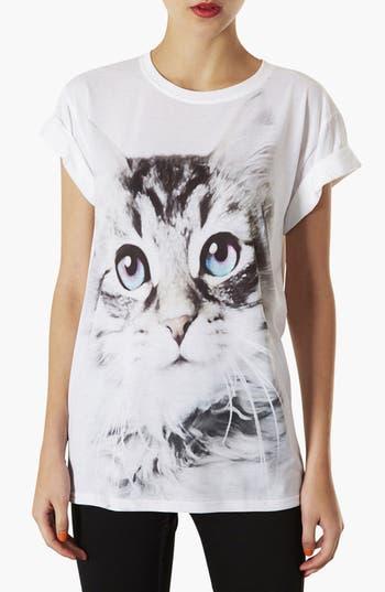 Alternate Image 1 Selected - Topshop 'Cute Kitty' Tee