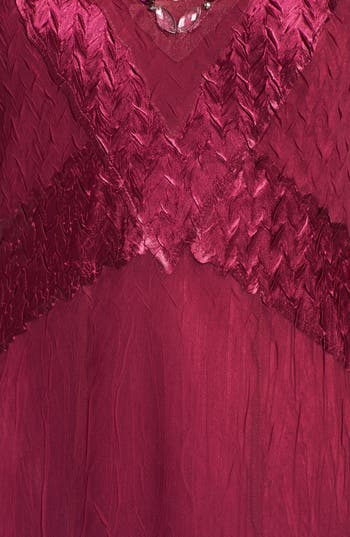 Alternate Image 3  - Komarov Embellished Satin & Chiffon Dress