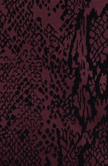 Alternate Image 4  - Donna Ricco Jacquard Panel Sheath Dress