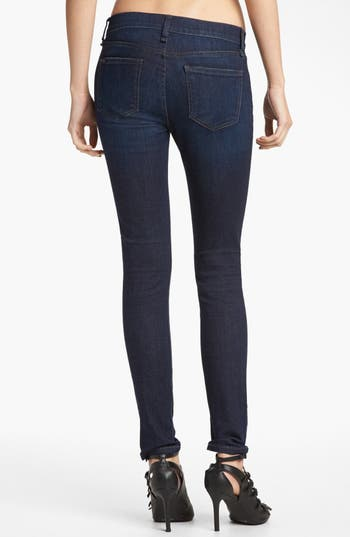 Alternate Image 2  - edyson 'Sloan' Deconstructed Skinny Jeans