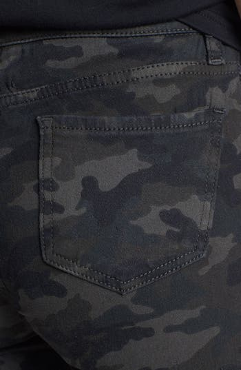 Alternate Image 3  - STS Blue Tuxedo Stripe Camo Print Pants (Juniors)