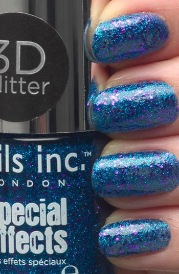 Alternate Image 3  - nails inc. London 'Special Effects - 3D' Glitter Nail Polish