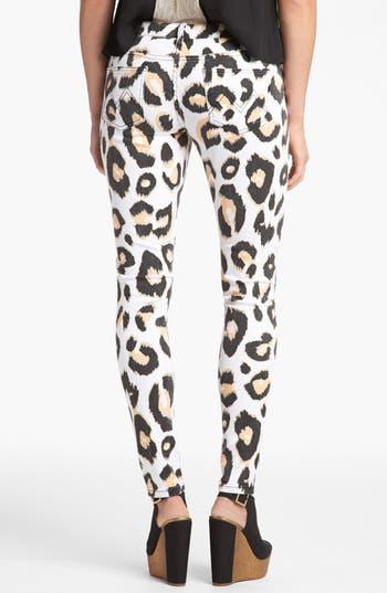 Alternate Image 2  - MINKPINK 'Animal Kingdom' Skinny Jeans