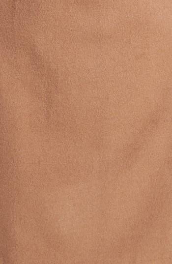 Alternate Image 3  - Ellen Tracy Genuine Fox Fur Trim Belted Long Coat (Regular & Petite) (Online Only)
