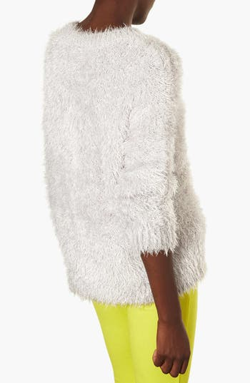 Alternate Image 2  - Topshop 'Cloud' Fluffy Sweater